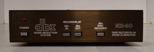 DBX NX-40 noise reduction system