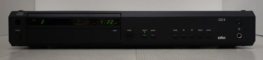 Braun CD3 - High-End CD Spieler in schwarz
