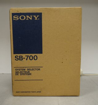 Sony SB-700 system selector