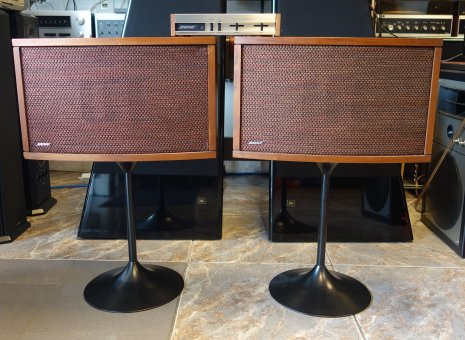 Bose 901 Serie III mit Equalizer