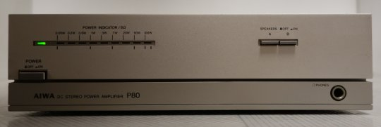 Aiwa P80 Endverstärker im Mini-Format