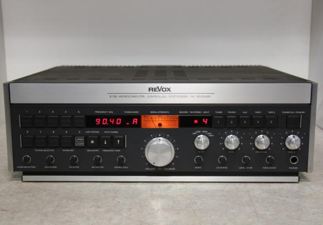 ReVox B780 Top Receiver
